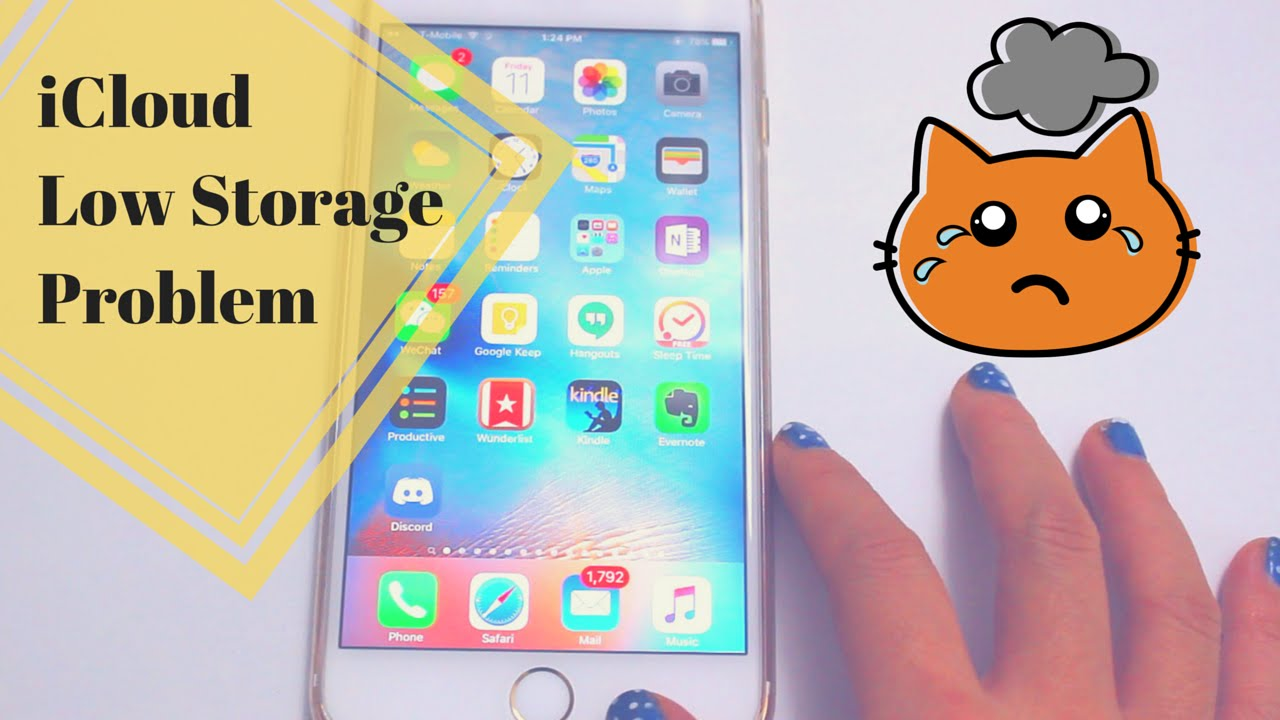 iCloud Storage Almost Full Problem – Even with iCloud Photo Library Turned Off