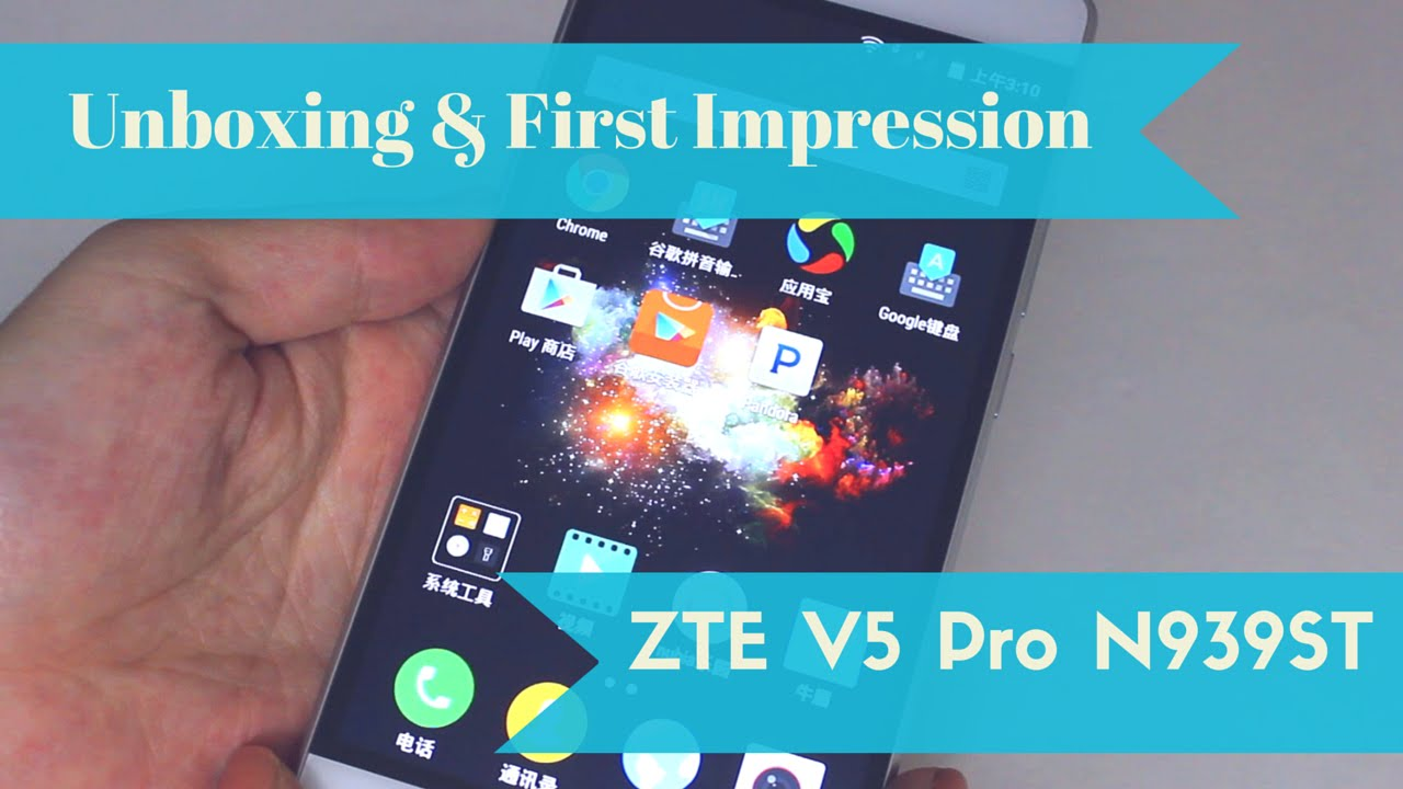ZTE V5 Pro N939ST Android Phone Unboxing & First Impression – HOLD YOUR MONEY!