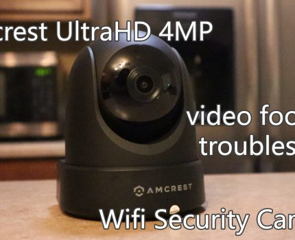 Amcrest 4MP UltraHD Wifi Indoor Security Camera Review – with Audio and Video Footage